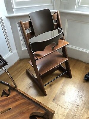 Stokke Tripp Trapp Chair. Walnut
