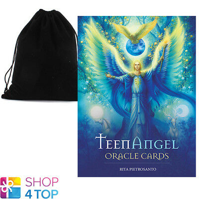 Teenangel Oracle Cards Deck Rita Pietrosanto Us Games Systems Velvet Bag New