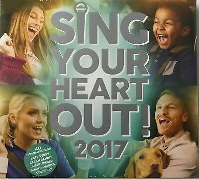 Various -SING YOUR HEART OUT 2017 (2xCD) New Sealed Free P&P