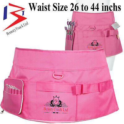BeautyTrack Hairdressing Aprons Holster Barber Pouch Hairstylist Skirt Salon Spa