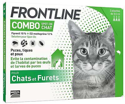 Frontline Combo Chat - 3 pipettes - Spot On