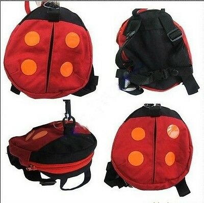 Travel Outdoor Backpack Child Baby Harness Bag With Safety Walking Reins ONE
