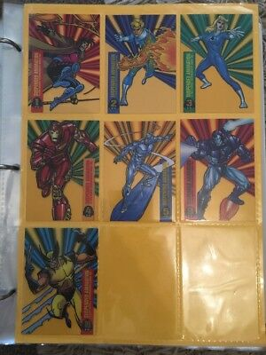 Suspended Animation Lot Marvel Universe 1994