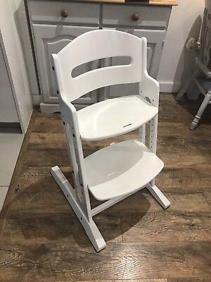 BabyDan Highchair White