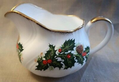 Queens Rosina Creamer Milk Jug with matching plate Gravy Boat?