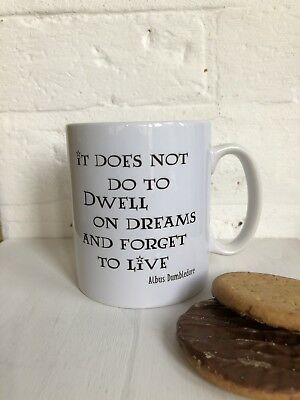 Harry Potter Dumbledore Quote Mug. Christmas Gift Idea/ Stocking Filler.