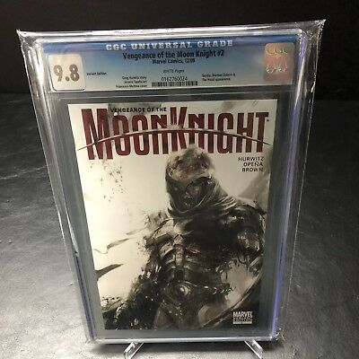 Vengeance Of Moon Knight #2 - Mattina 1:10 Variant - Zombie CGC 9.8