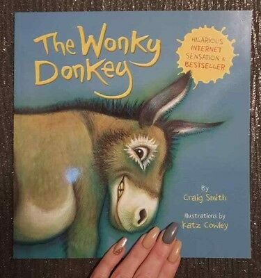 Craig Smith Wonkey The Wonky Donkey Paperback Book Brand New UK Stock