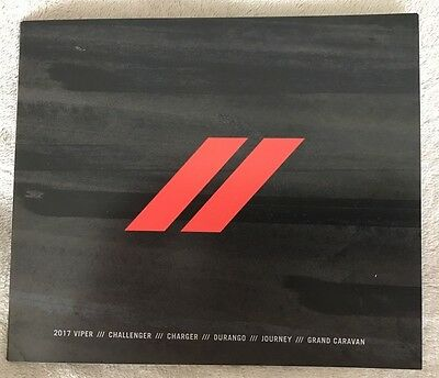 Dodge Motors 2017 Product Guide Brochure - New