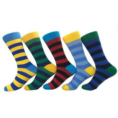 MENS WOMENS STRIPE STRIPED STRIPEY COLOUR COMFORT SOFT COTTON ANKLE SOCK Gift