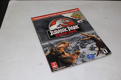 Jurassic Park Operation Genesis Guide by Prima! Extremely Rare!