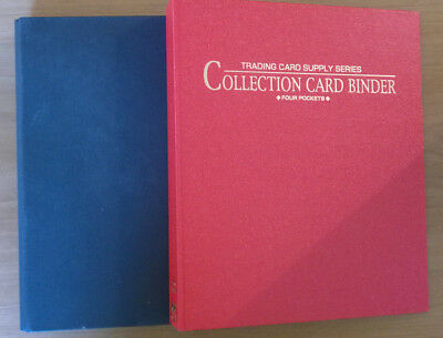 Binder・Lot de 2, 4 Pocket Binder avec 55 pages Carddass Bandai