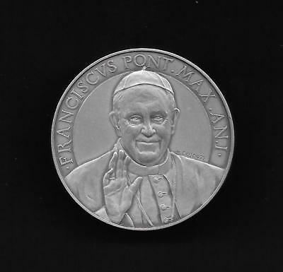 Pope Francis - Vatican City State - Anno 1 - 2013 Sterling Silver Medal