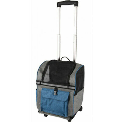 sac a dos  chien trolley Kiara simple bleu - Flamingo FL-517743
