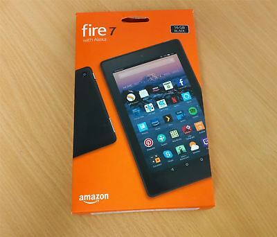 Amazon Fire 7 Tablet With Alexa New Condition - 7'' Inch Display - 16Gb - Black
