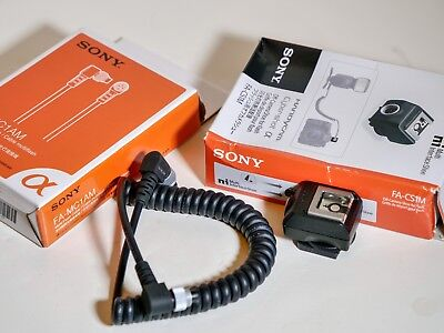 Sony Original Fa-Mc1Am Mc1Am Original Flash..off-Camera Cable..perfect
