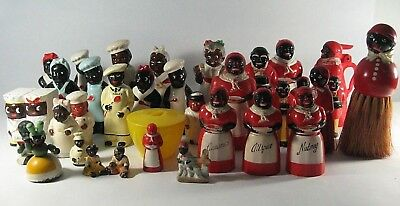 AUNT JEMIMA UNCLE MOSE  F & F  S and P SYRUP SPICE SHAKERS MISC  SOLD AS ONE LOT