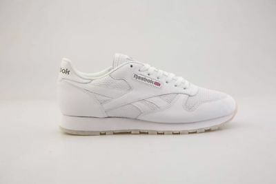 799b153b25a Reebok Cl Leather NM White Snow Grey Classic Sneaker Men s US 9 ...