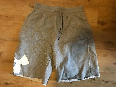 Under Armour Sweatpants Short Größe M grau