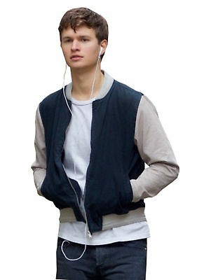 Baby Driver Ansel Elgort Men's Varsity Jacket All Size are Available