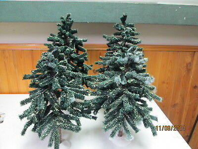 Village Green Spruce Trees Dept 56 Accessories Christmas heritage large small