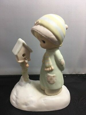 "Precious Moments Figurine ""Blessings From My House To Yours"""