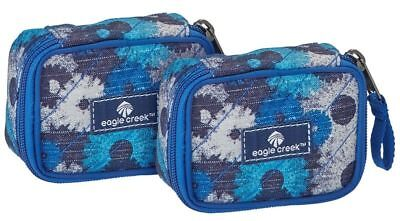 Eagle Creek Pack-It Original™ Quilted Mini Cube Set daisy chain blue