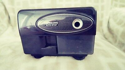 Vintage Panasonic Electric Pencil Sharpener Model KP-310 Auto Stop Black