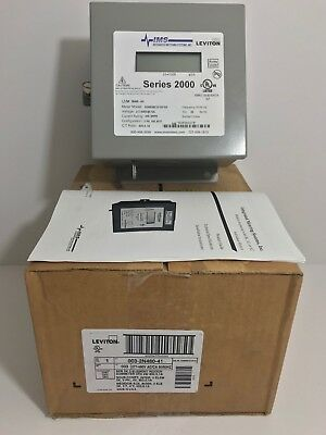 New! Leviton Ims 3 Element Indoor Submeter 003-2N480-41 2N480-41 Pic 2 For Specs