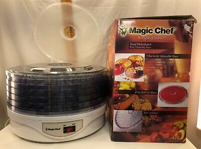 Magic Chef Food Dehydrated In Original Box