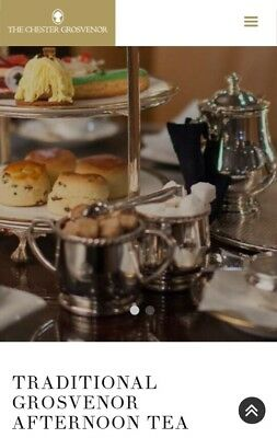 Luxury Afternoon Tea For Two Chester Grosvenor