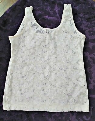 1990's Christian Dior Lace Camisole Size S