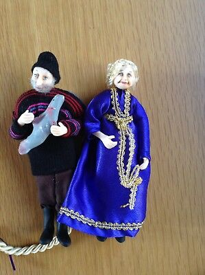 Two Dolls House Figures/Dolls
