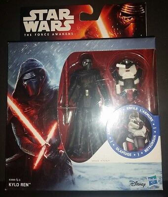 Star Wars The Force Awakens Armour Up Actionfigur KYLO REN 3.75inch NEU/OVP