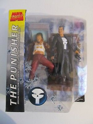 2002 Marvel Select The Punisher Collector Edition In Original Pkg.
