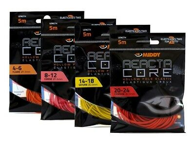 Middy Reacta Core Hollow  Elastic ENOUGH FOR 2 TOP KITS! All sizes Available