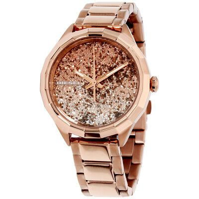 Diesel Kween B Rose Gold Dial Stainless Steel Ladies Watch DZ5539