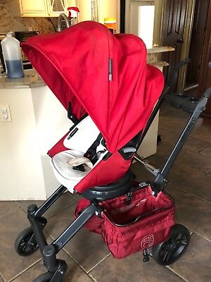 orbit baby g3 stroller with toddler seat