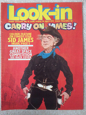 Look In Magazine 29 Apr 1972 #18 Carry On James