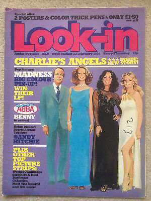 Look In Magazine 23 Feb 1980 #9 Charlie's Angels   /    Madness