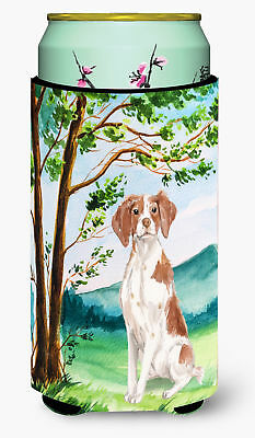 Under the Tree Brittany Spaniel Tall Boy Beverage Insulator Hugger