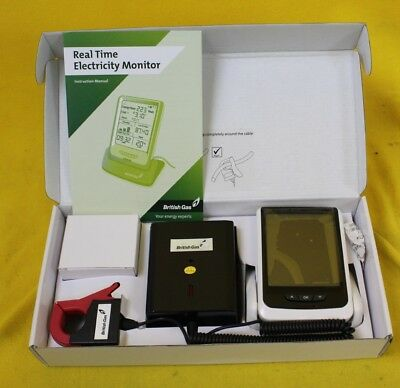NEW British Gas Real Time Electricity Monitor Lot A #DAC 52 JT