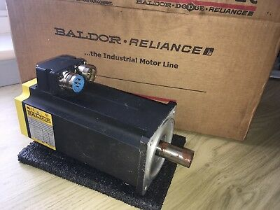Baldor Reliance brushless AC servo motor Made in USA ABB new old stock boxed