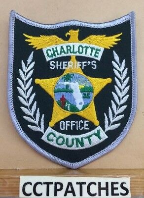 CHARLOTTE COUNTY, FLORIDA Sheriff (Police) Shoulder Patch Fl