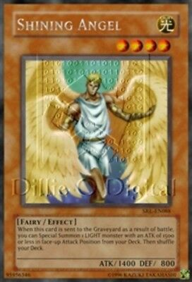 YuGiOh Shining Angel - HL06-EN006 - Parallel Rare - Promo Edition Lightly Played