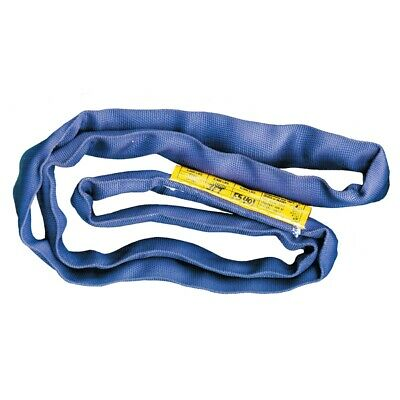 VULCAN Round Sling - Super Duty - 10 Foot - Blue - Safe Working Load 21,200 lbs.
