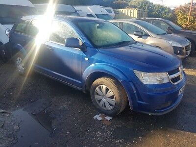 2008/58 Dodge Journey Se Crd Met Blue 7 Seat Low Miles May Px Swap