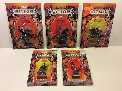 Tonka Vintage Willow Action Figures Lot of 5 MOC