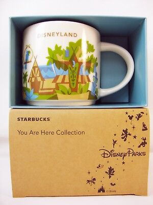 DISNEY Parks DISNEYLAND Starbucks ADVENTURELAND You Are Here Mug TIKI Room