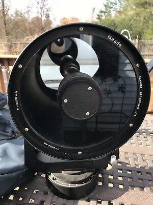 Meade F=2000 F/10 203mm Telescope Tripod Low Prc Estate Find  Schmidt Cassegrain